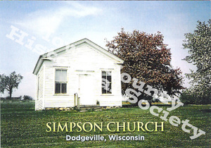 ·Post Card  Simpson Church (Watermark)