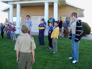 View the album Sept 11, 2012 - Cub Scout Camp Out