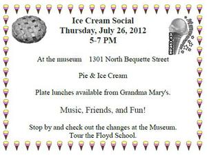 View the album July 26, 2012 - ICHS Ice Cream Social